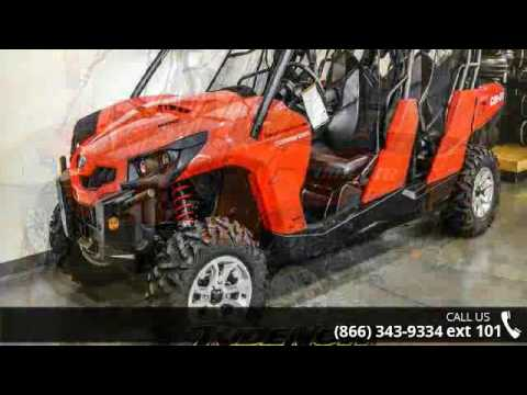 2017 can am commander max review