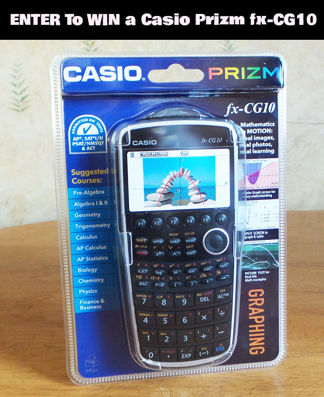 casio prizm fx cg10 review