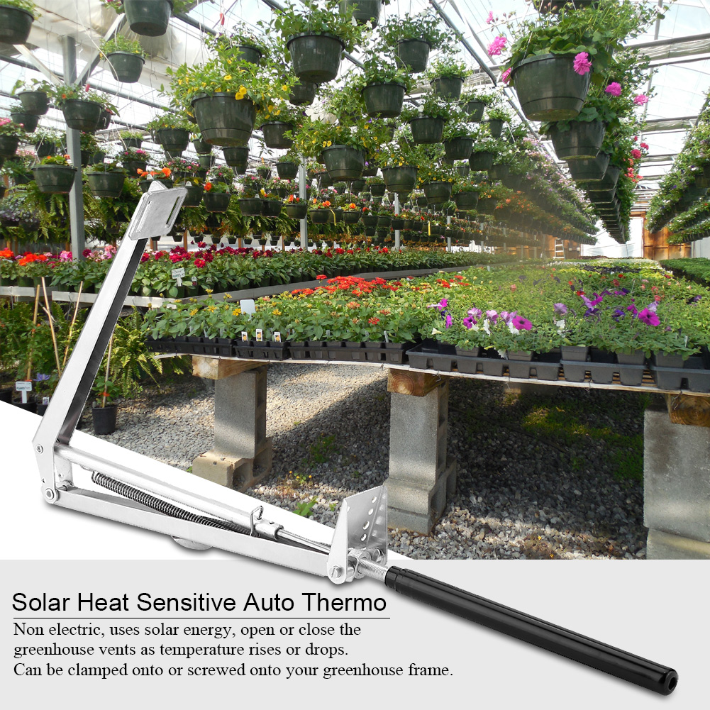 automatic greenhouse vent opener review