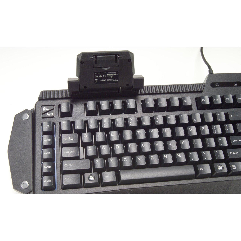 azio levetron mech5 mechanical gaming keyboard review