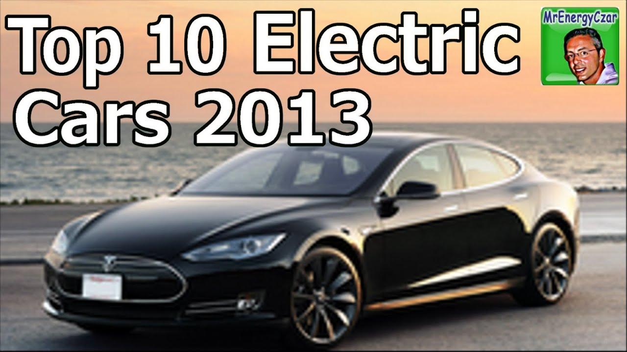 electric car reviews top 10