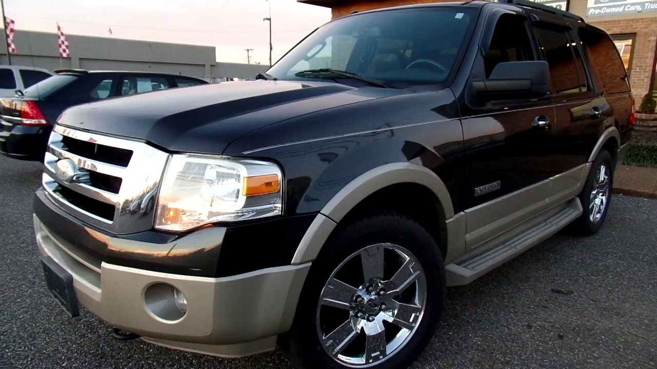 2007 ford expedition eddie bauer reviews