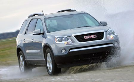 2007 gmc acadia slt reviews