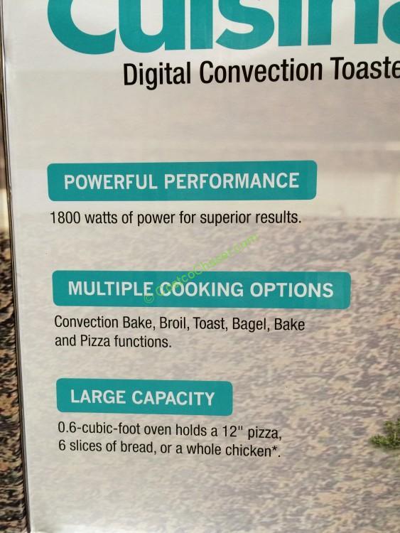 cuisinart cto 1300 pc review