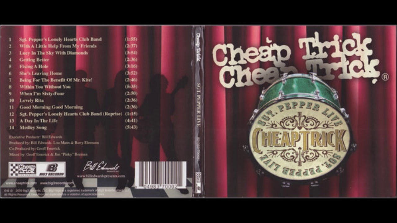 cheap trick sgt pepper review