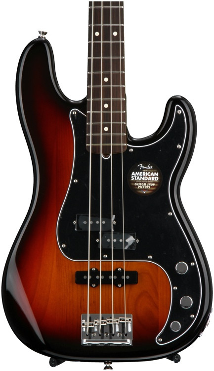 fender limited edition american standard pj bass review