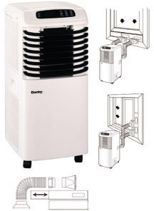 danby 8000 btu portable 3 in 1 air conditioner review