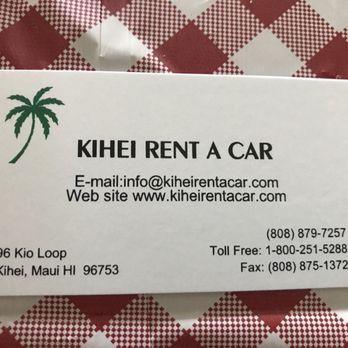 kihei rent a car reviews