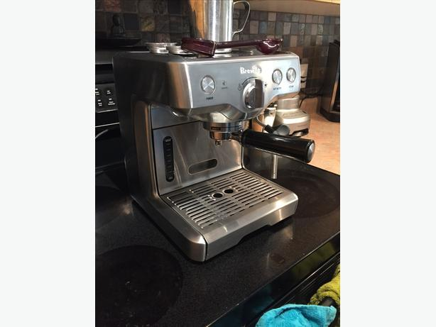 breville die cast duo temp espresso machine reviews