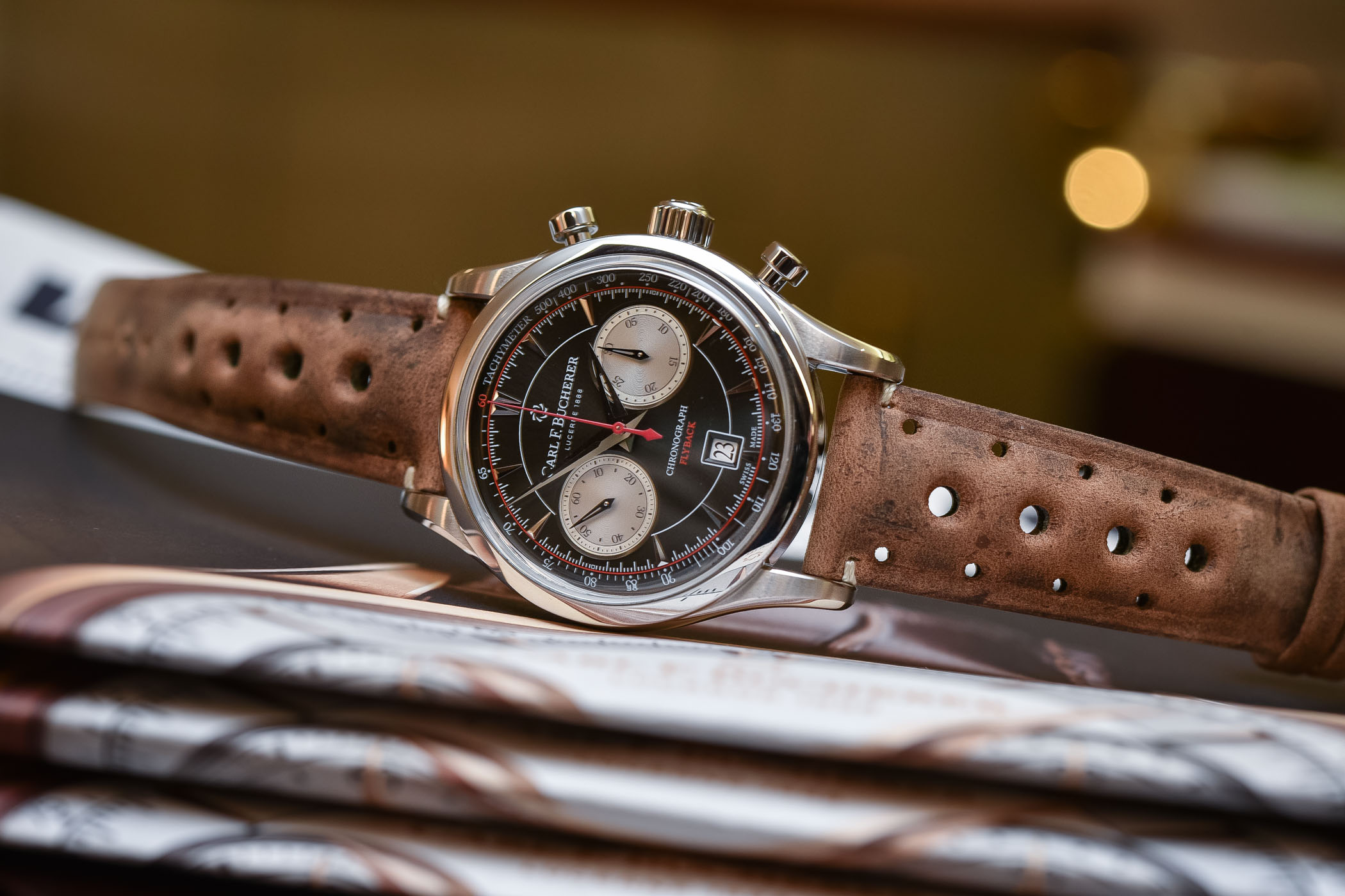 carl f bucherer manero flyback review