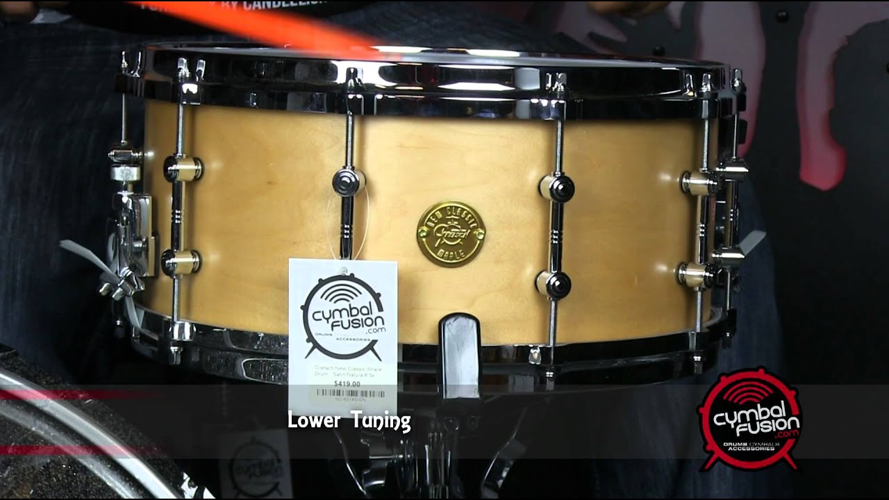 gretsch new classic snare review