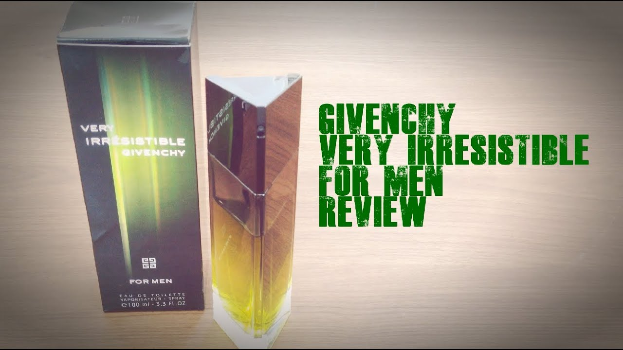 givenchy very irresistible perfume review