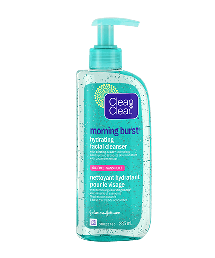 clean and clear morning burst facial cleanser review