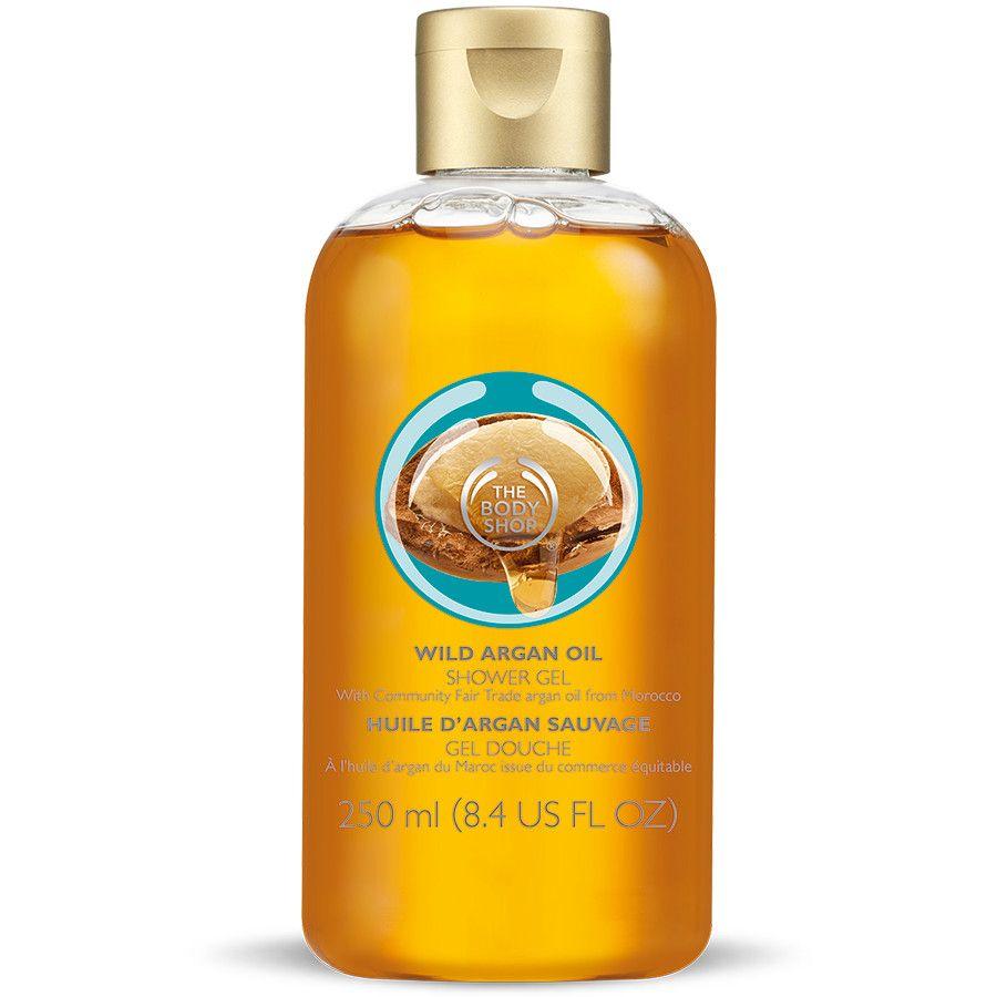 body shop argan oil shower gel review