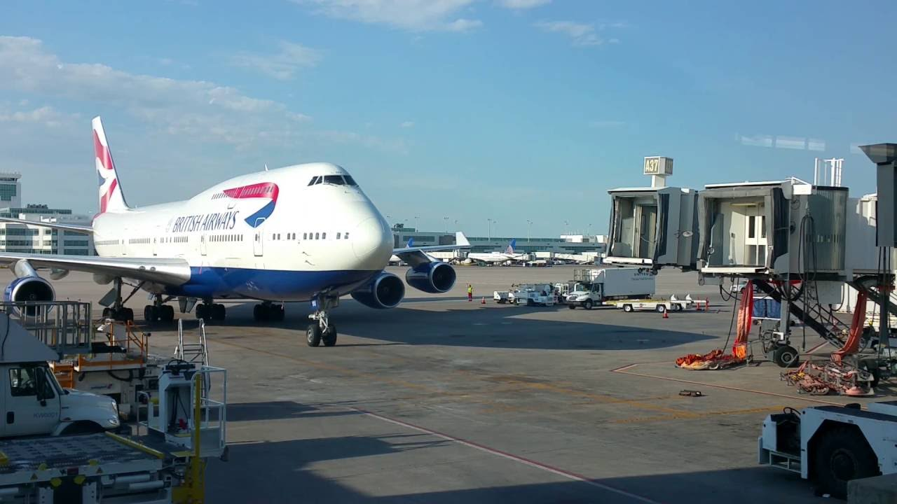 british airways denver to london review