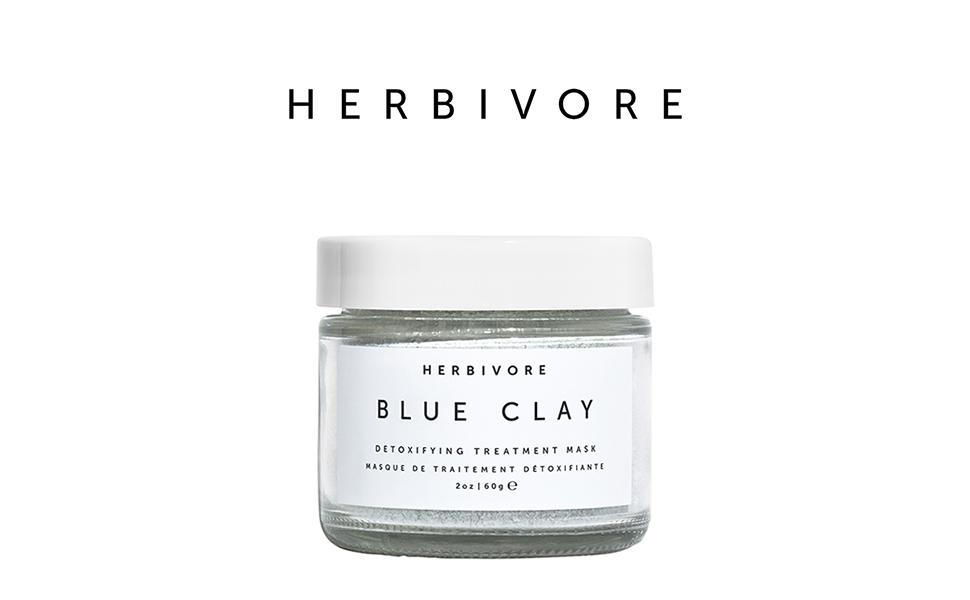 herbivore botanicals blue clay spot treatment mask review