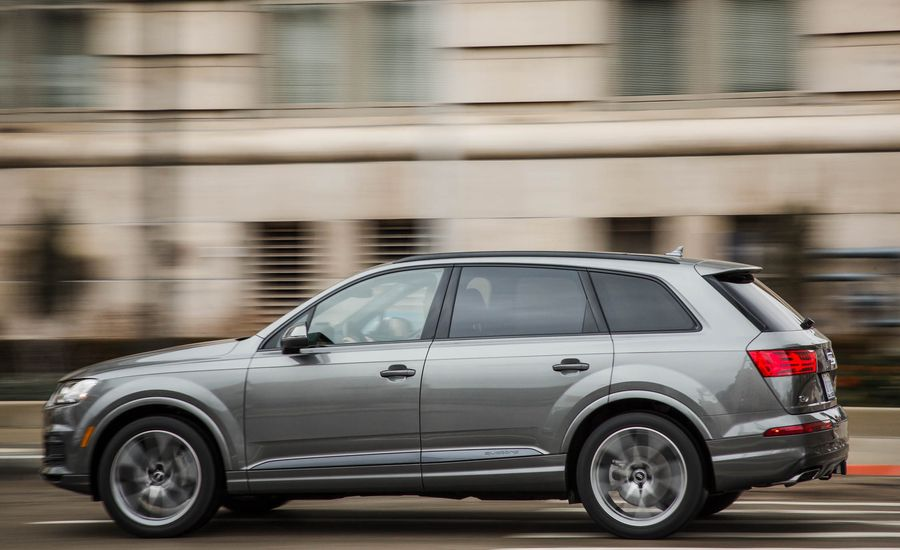 2014 audi q7 review car and driver