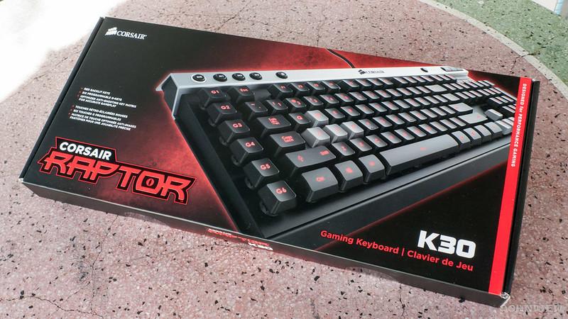 corsair k30 gaming keyboard review