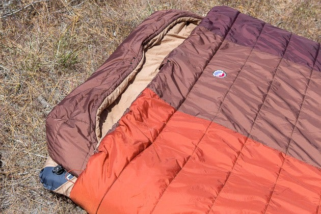big agnes double sleeping bag reviews