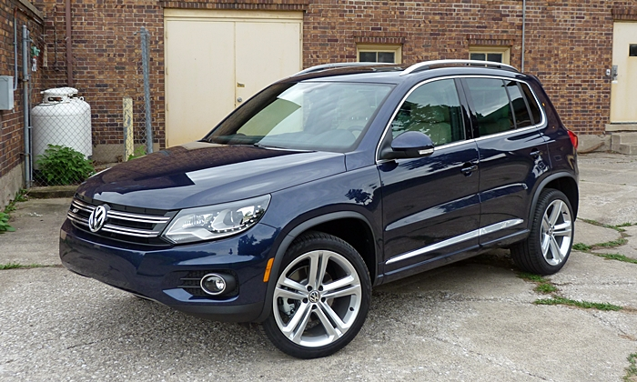 2013 vw tiguan r line review