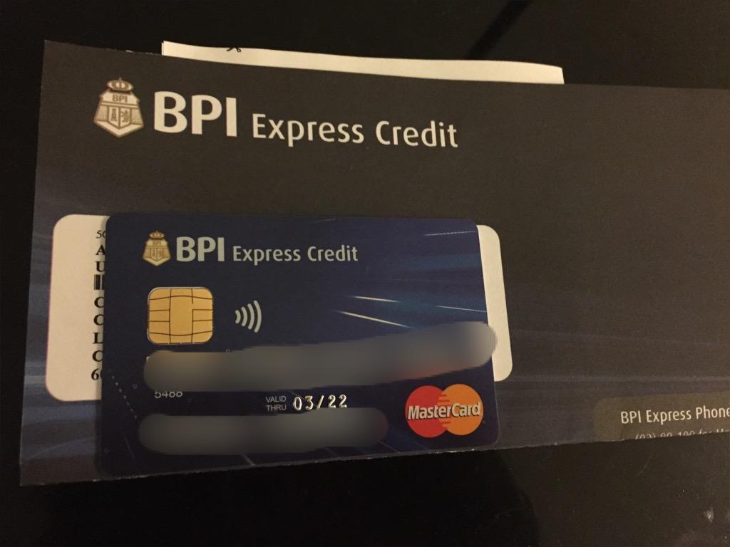 bpi credit card application review