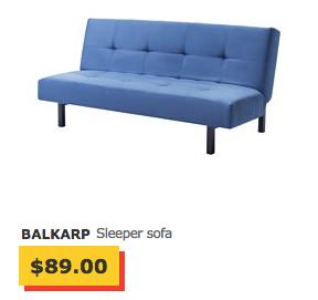 balkarp sleeper sofa ikea review
