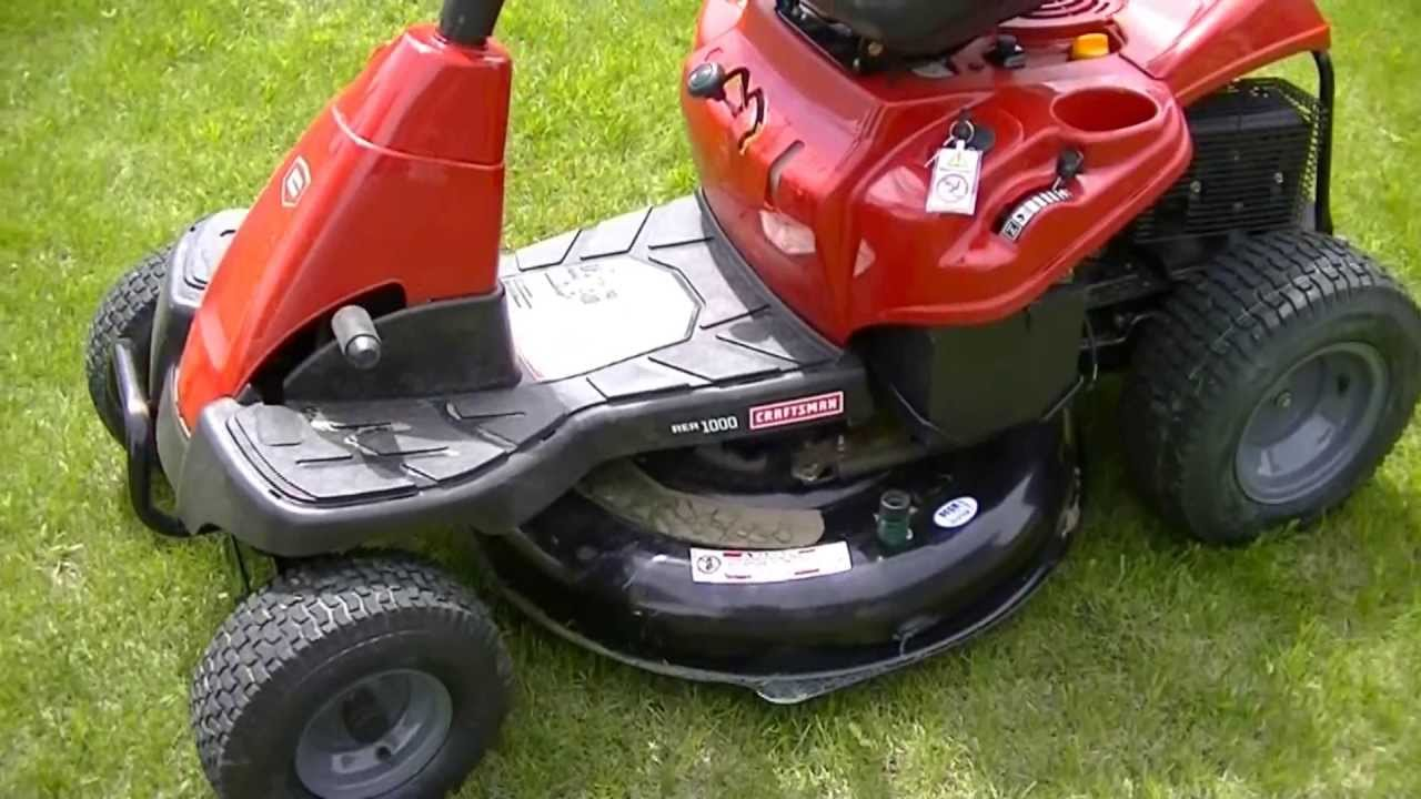 craftsman 30 inch riding mower review