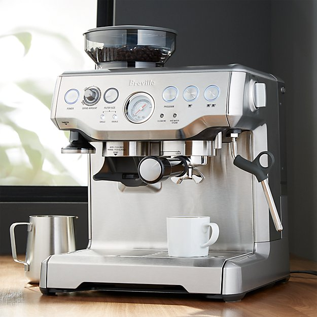breville the barista express coffee machine review