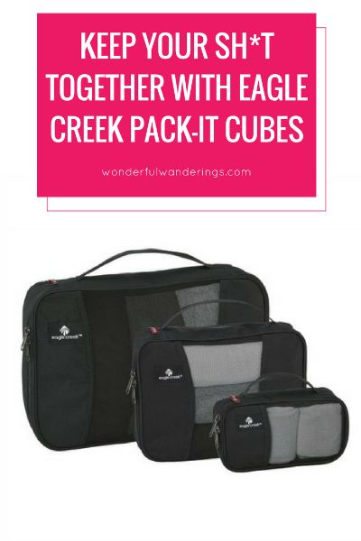 eagle creek packing cubes review