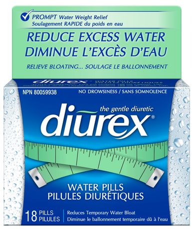 diurex water pills canada review