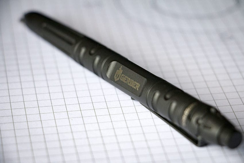 gerber impromptu tactical pen review