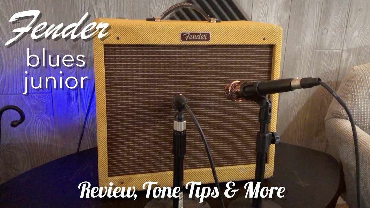 fender blues jr review youtube