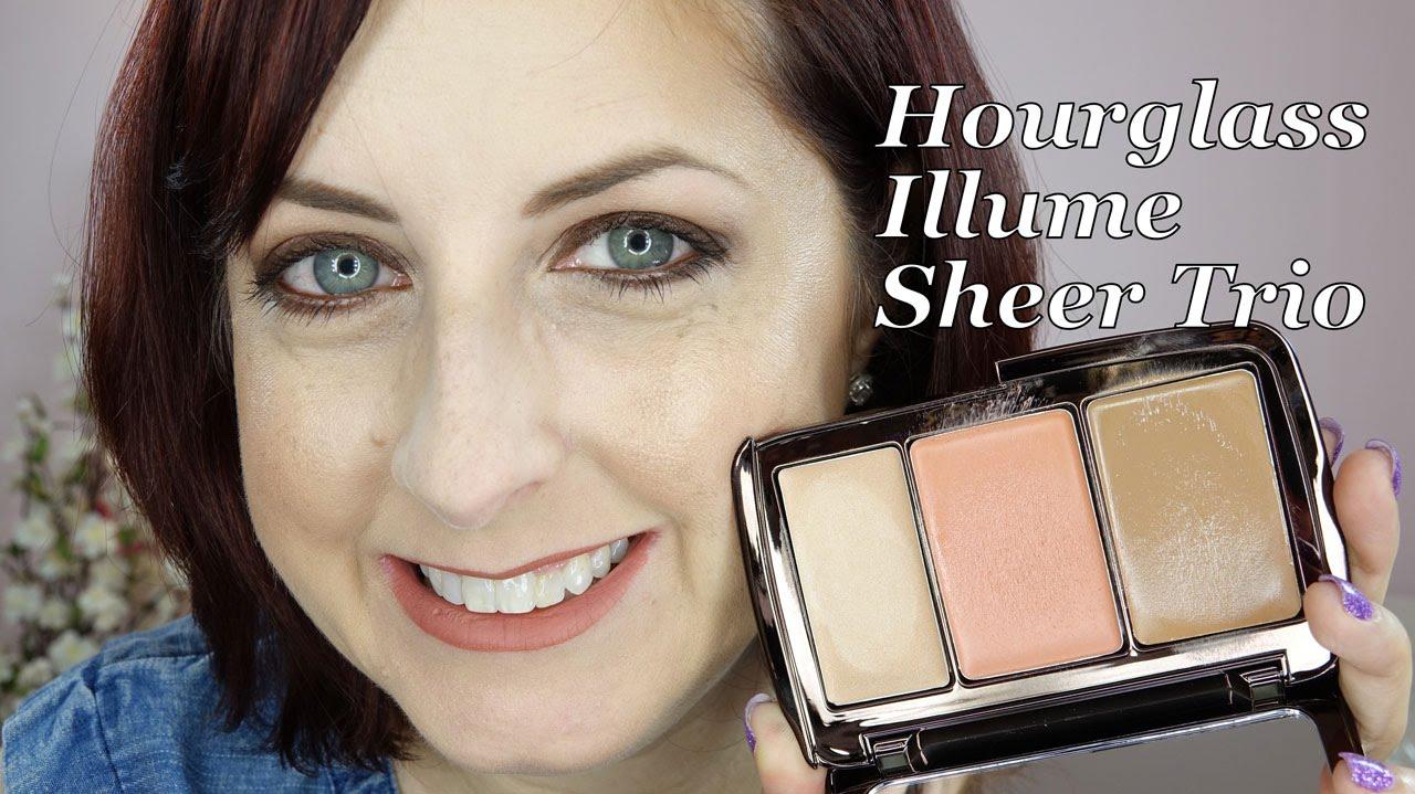 hourglass illume sheer color trio review